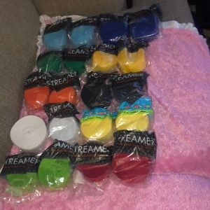 Bundle Of Colorful Streamers